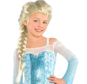 Child Elsa Wig - Frozen