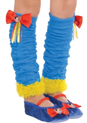 Snow White Leg Warmers