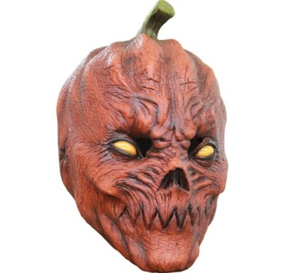 Pumpkin Head Mask