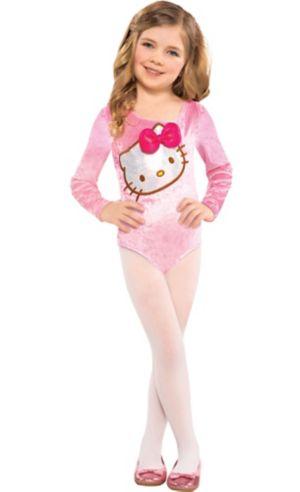 Child Long Sleeve Hello Kitty Bodysuit
