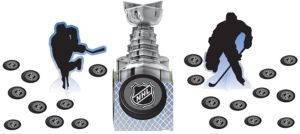 NHL Table Decorating Kit 23pc