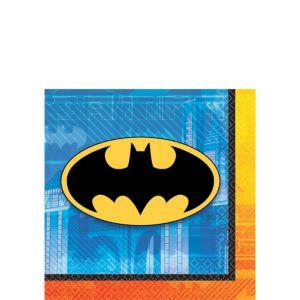 Batman Beverage Napkins 16ct