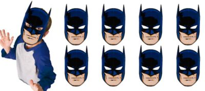 Batman Masks 8ct