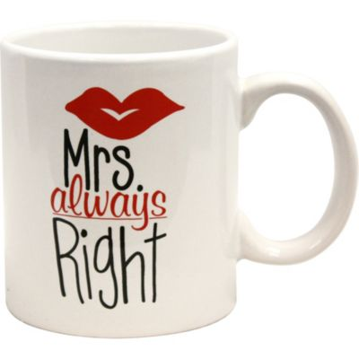 Mrs. Right Mug