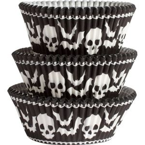 Skull Baking Cups 75ct