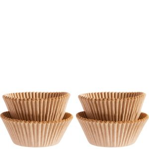 Kraft Mini Baking Cups 100ct