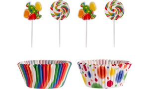 Candy Cupcake Combo Pack 74pc