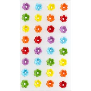 Daisy Royal Icing Decorations 32ct