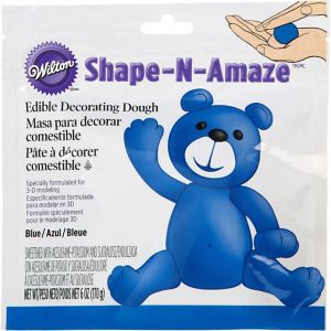 Blue Edible Decorating Dough
