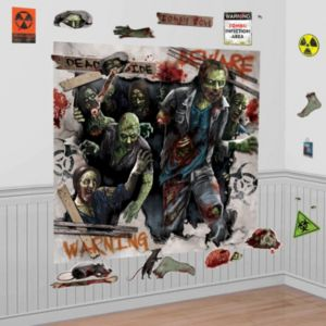 Zombie Wall Decorations 32pc