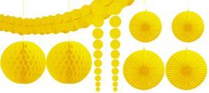 Sunshine Yellow Decorating Kit 9pc