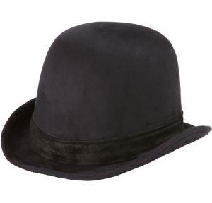 Adult Black Derby Hat