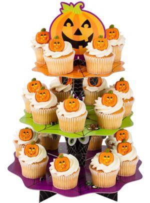Cute Halloween Cupcake Stand