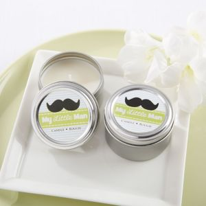 My Little Man Travel Candle
