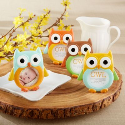 Owl Photo Frames 4ct