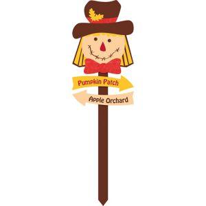 Scarecrow Yard Stake