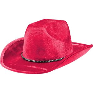 Black Light Neon Pink Cowboy Hat