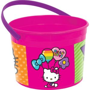 Rainbow Hello Kitty Favor Container