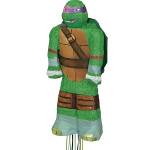 Pull String Donatello Teenage Mutant Ninja Turtles Pinata