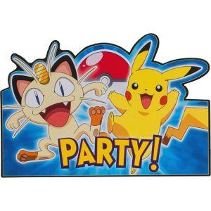 Pokemon Invitations 8ct