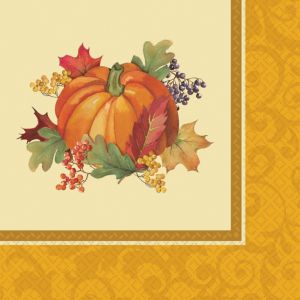 Bountiful Holiday Dinner Napkins 16ct