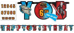 Star Wars Rebels Birthday Banner