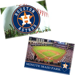 Houston Astros Magnets 2ct