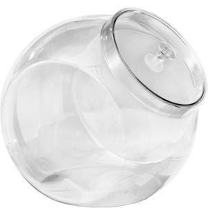 CLEAR Plastic Candy Jar
