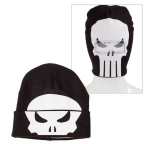 Punisher Roll-Down Mask Beanie