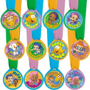 Bubble Guppies Award Medals 12ct