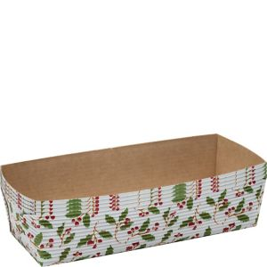 Holly Loaf Baking Pans 4ct