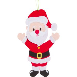 Jointed Felt Santa