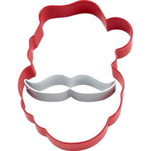 Santa Cookie Cutter Set 2pc