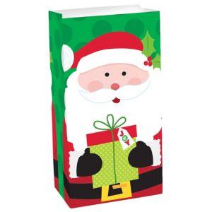 Santa Claus Paper Favor Bag