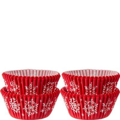 Snowman Mini Baking Cups 100ct