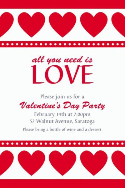 Custom Sweet Love Invitations