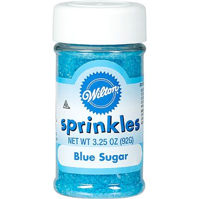 Blue Sugar Sprinkles 3.25oz
