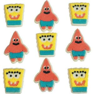 SpongeBob Icing Decorations 9ct