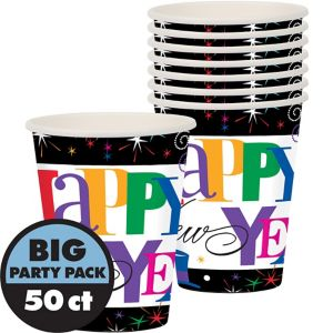 Ring in the Year New Year's Cups 50ct