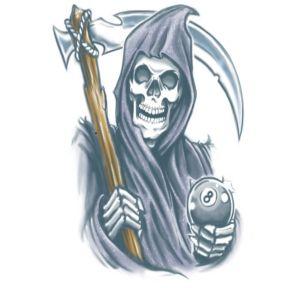 Reaper Biker Tattoo