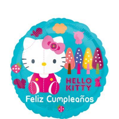 Feliz Cumpleanos Hello Kitty Balloon