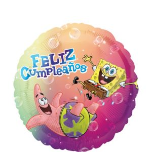 Feliz Cumpleanos SpongeBob Balloon