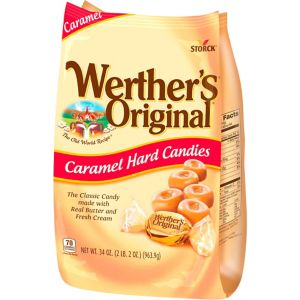 Werther's Original Caramel Hard Candies 180ct
