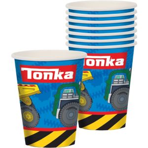 Tonka Truck Cups 8ct
