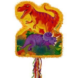 Pull String Prehistoric Dinosaurs Pinata