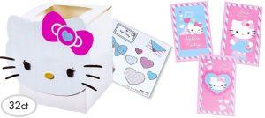 Bright Hello Kitty Valentine Exchange Cards 32ct