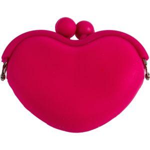 Pink Heart Coin Purse