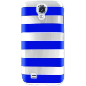 Blue Striped Phone Case for Galaxy S4