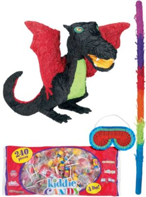 Black Dragon Pinata Kit
