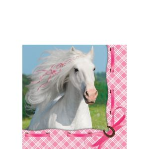 Heart My Horse Beverage Napkins 16ct
